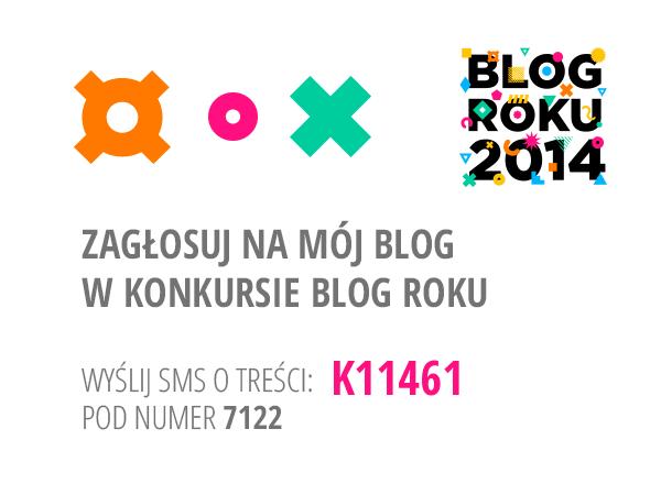 Nominacja do tytułu Blog Roku 2014